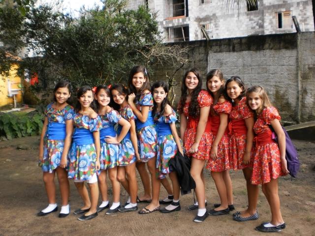 Participação do Grupo de Dança no Centro de Equoterapia de Alagoas