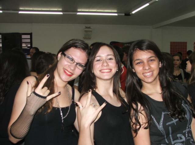 Trote 3º anos - Rock