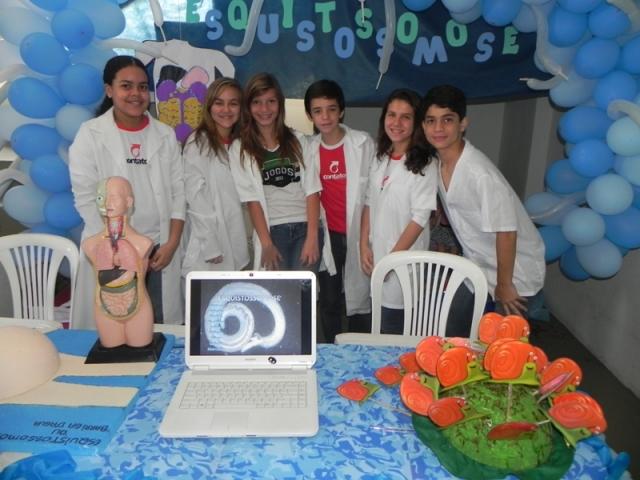 Exposição dos Trabalho de Ciências - 8º anos