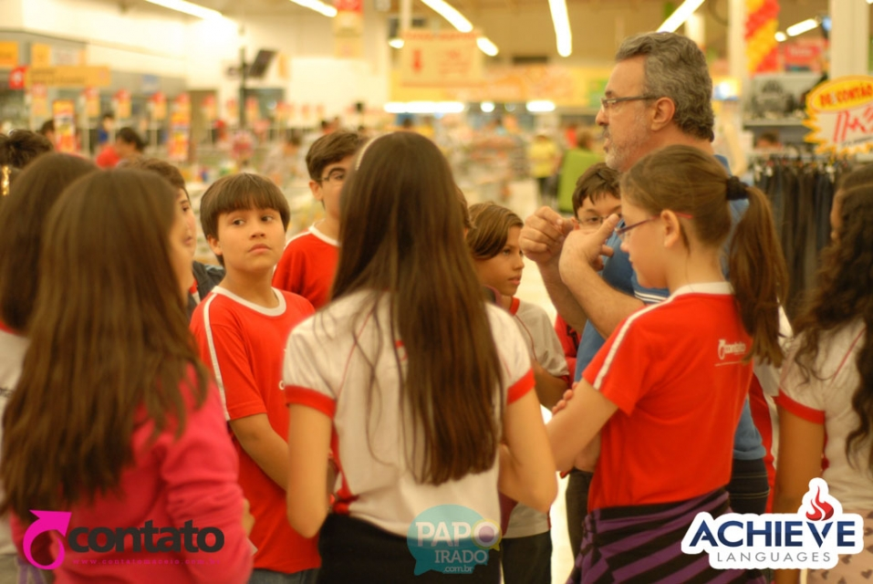 Achieve Languages - Aula no supermercado