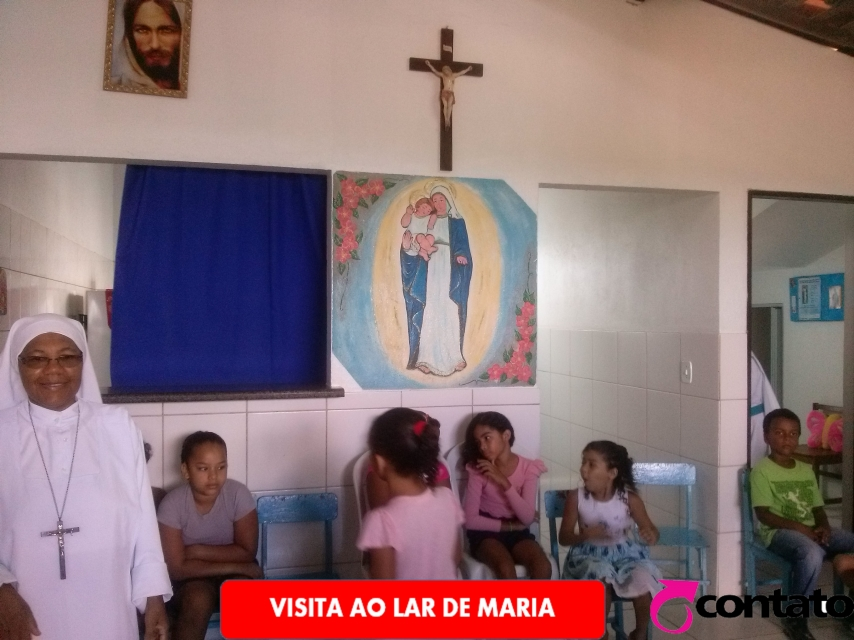 Visita ao Lar de Maria