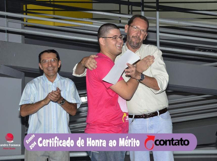 Certificado de Honra ao Mérito