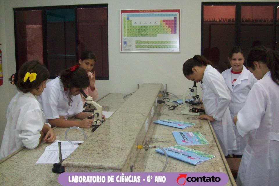 Aula de Microscópia