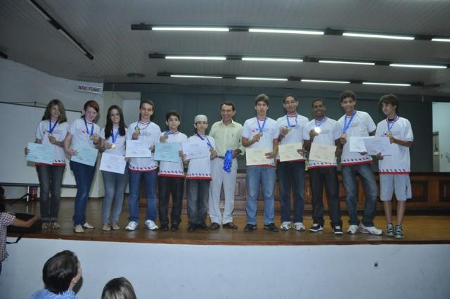 Premiação da VI Olimpíada Alagoana de Matemática