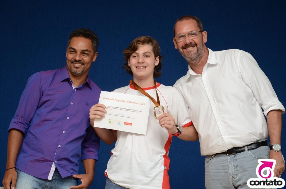 Premiação  da Olimpíada Alagoana de Química - OALQ - 2016