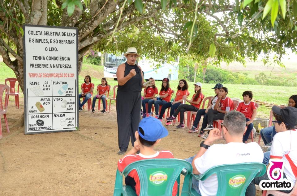 Expedição pedagógica Reserva Ecológica Osvaldo Timóteo 7º ano