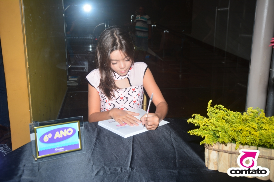 Noite de autógrafo