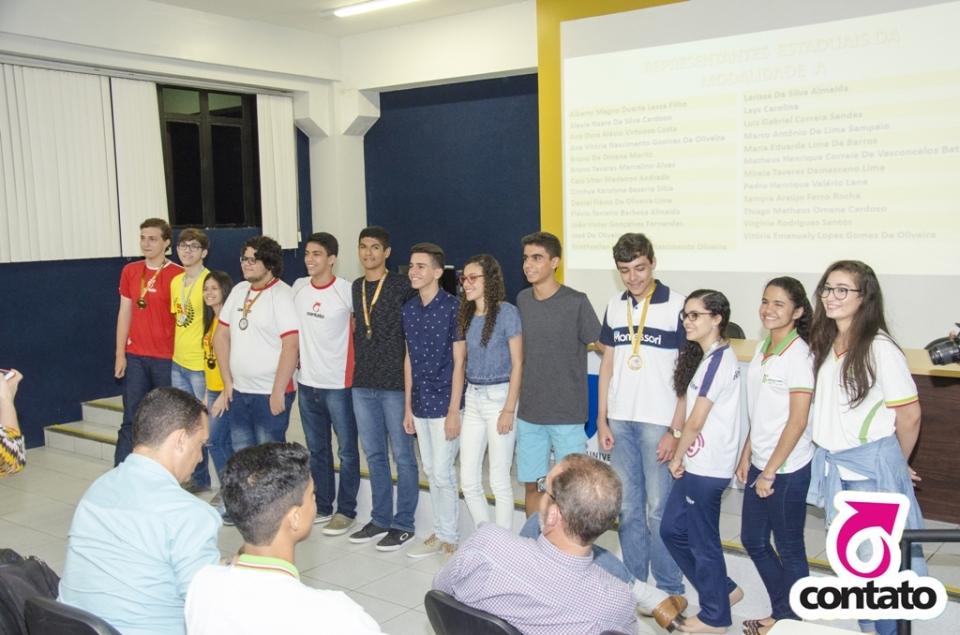 Olimpíadas de Química - Premiação