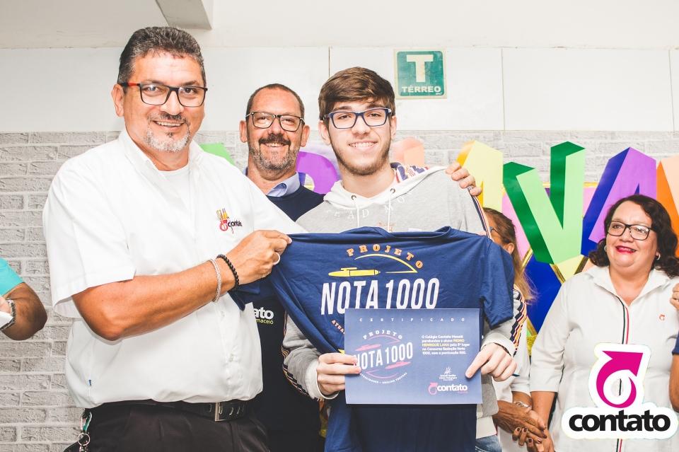 Premiação  Aluno Nota 1000