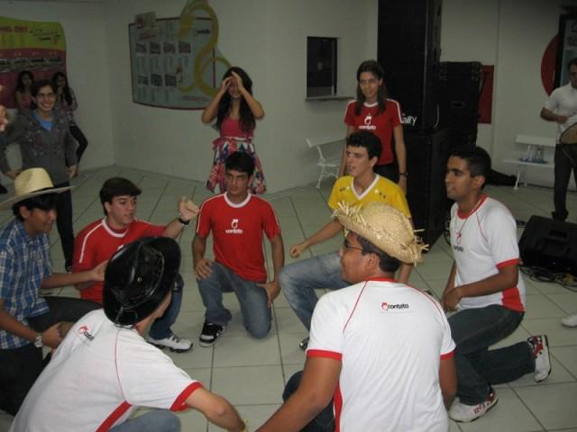 Arraiá Contato 2010 -  9º, 1º e 2º anos