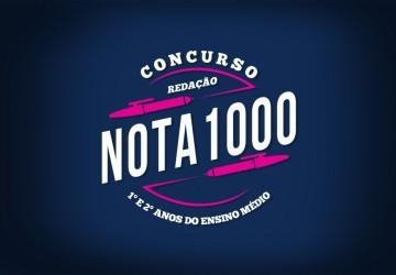 Edital do 1° Concurso Redação Nota 1000