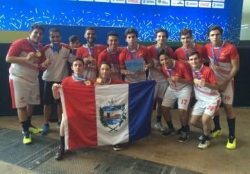 Alagoas é campeão de handebol masculino nos JEJ's 2017