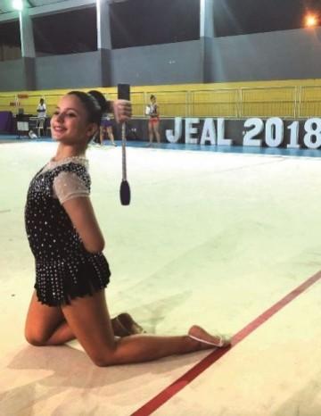 Colégio Contato é o campeão de ginástica rítmica do Jeal
