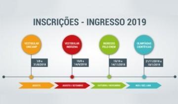 Unicamp abre inscrições para o Vestibular Vagas Olímpicas 2019
