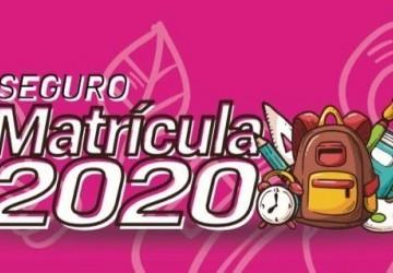 Contato inicia o Seguro Matrícula 2020
